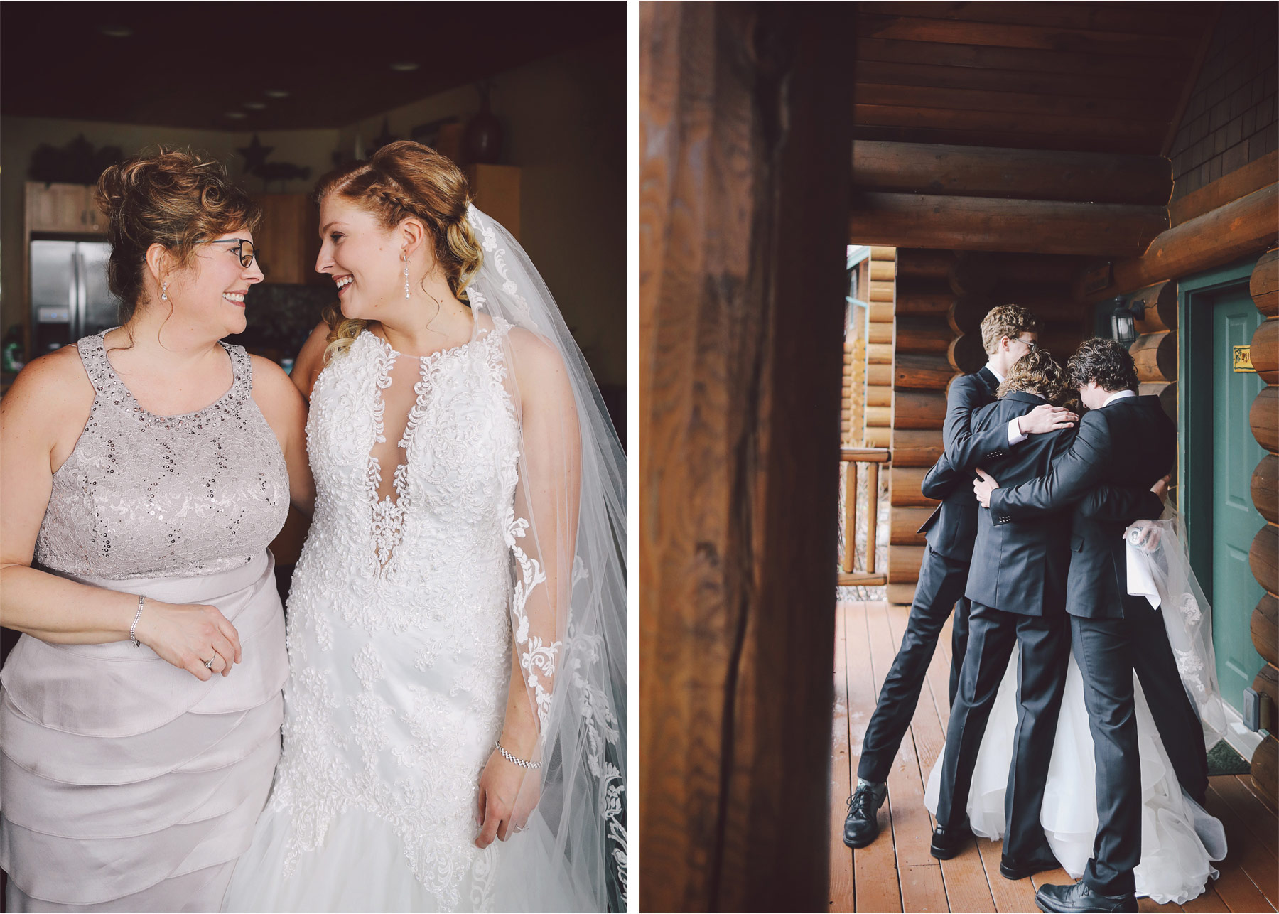 03-Minnesota-Wedding-by-Andrew-Vick-Photography-Grand-Superior-Lodge-Duluth-Two-Harbors-Mother-Bride-Brothers-Hug-Veronica-and-Tyler.jpg
