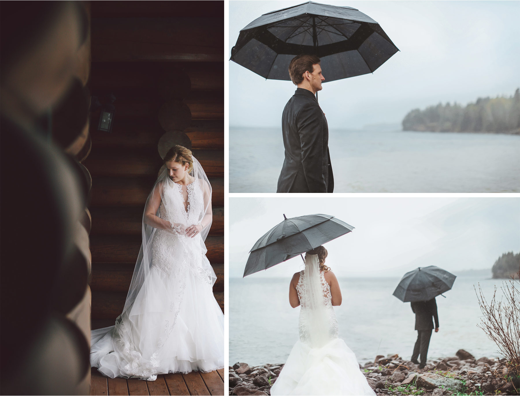 06-Minnesota-Wedding-by-Andrew-Vick-Photography-Grand-Superior-Lodge-Duluth-Two-Harbors-Bride-Dress-Lake-Superior-Rain-Umbrella-Groom-Veronica-and-Tyler.jpg