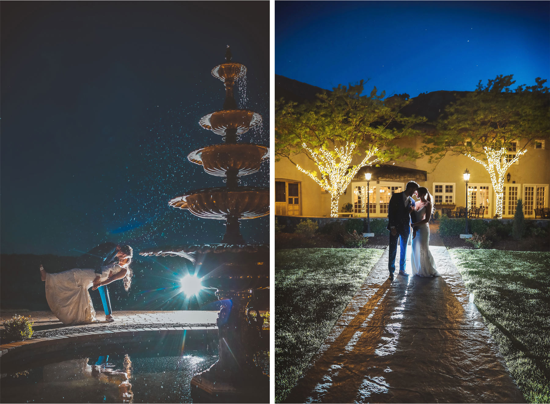 24-Minneapolis-Minnesota-Wedding-Andrew-Vick-Photography-Bavaria-Downs-Bride-Groom-Fountain-Night-Paige-and-Blake.jpg
