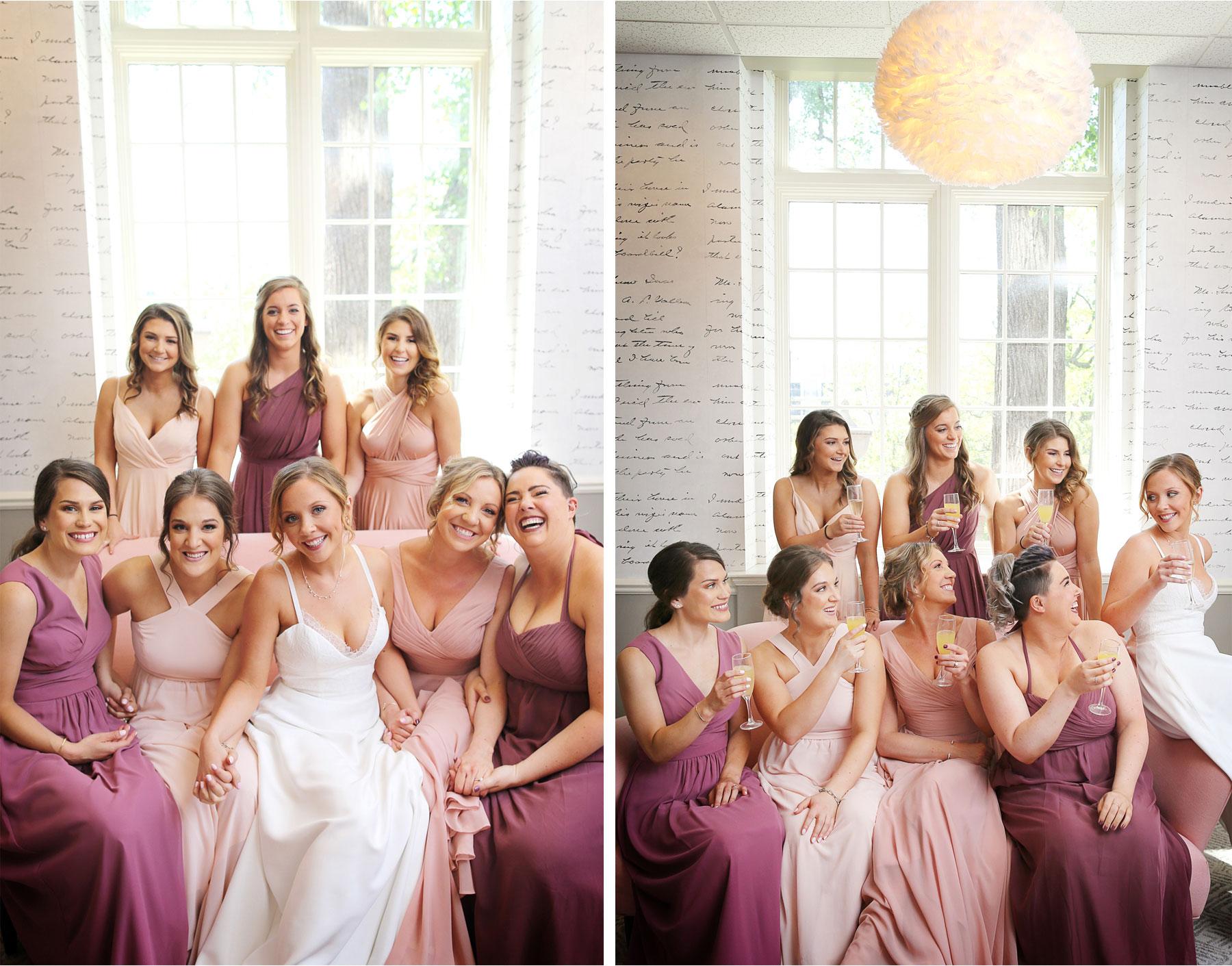 02-Minneapolis-Minnesota-Wedding-Andrew-Vick-Photography-Calhoun-Beach-Club-Bride-Bridesmaids-Champagne-Toast-Pink-Samantha-and-Ryan.jpg
