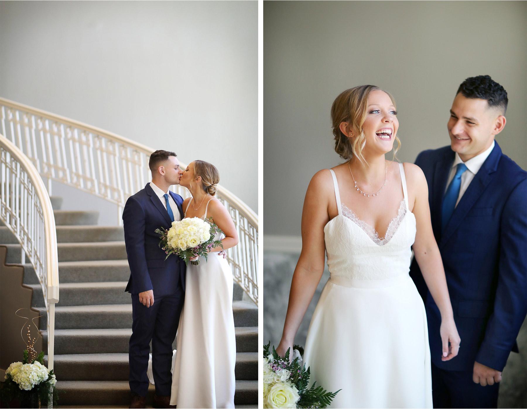 06-Minneapolis-Minnesota-Wedding-Andrew-Vick-Photography-Calhoun-Beach-Club-Bride-Groom-First-Look-Staircase-Samantha-and-Ryan.jpg