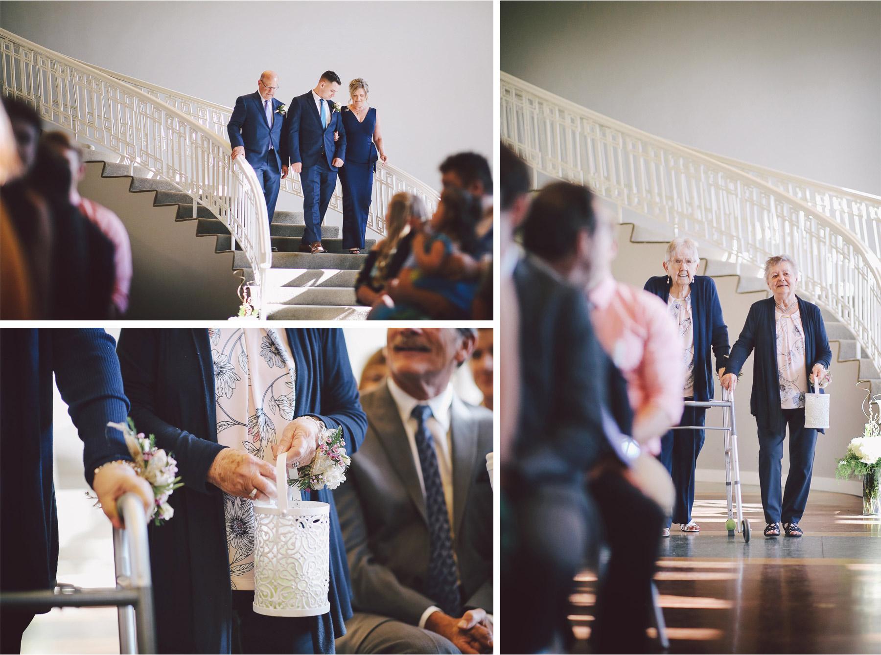 11-Minneapolis-Minnesota-Wedding-Andrew-Vick-Photography-Calhoun-Beach-Club-Ceremony-Staircase-Flowergirls-Grandmother-Samantha-and-Ryan.jpg