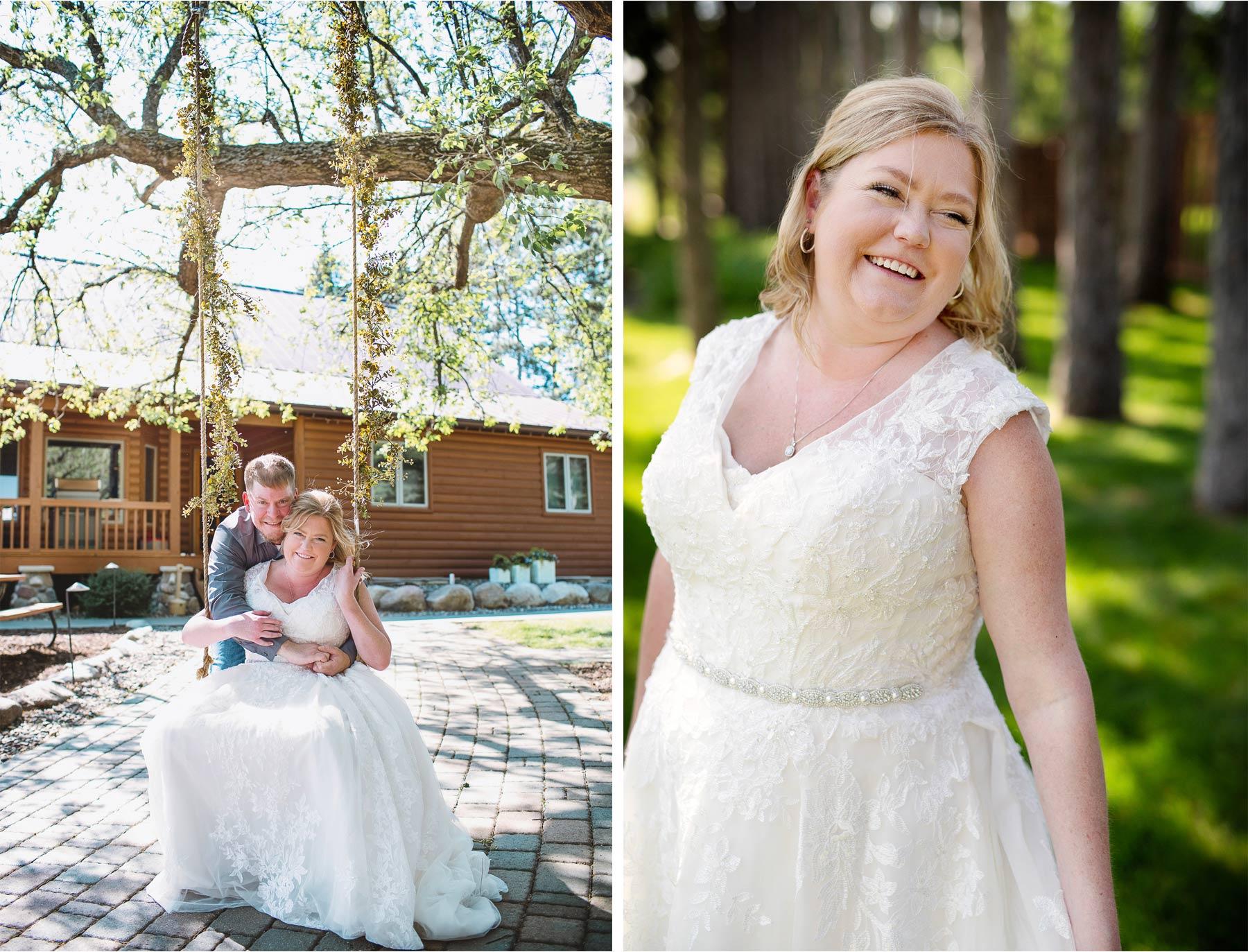 06-Vick-Photography-Wedding-Brainerd-Minnesota-Pine-Peaks-Lodge-Cabin-Rustic-Bride-Swing-Kristi-and-Noel.jpg