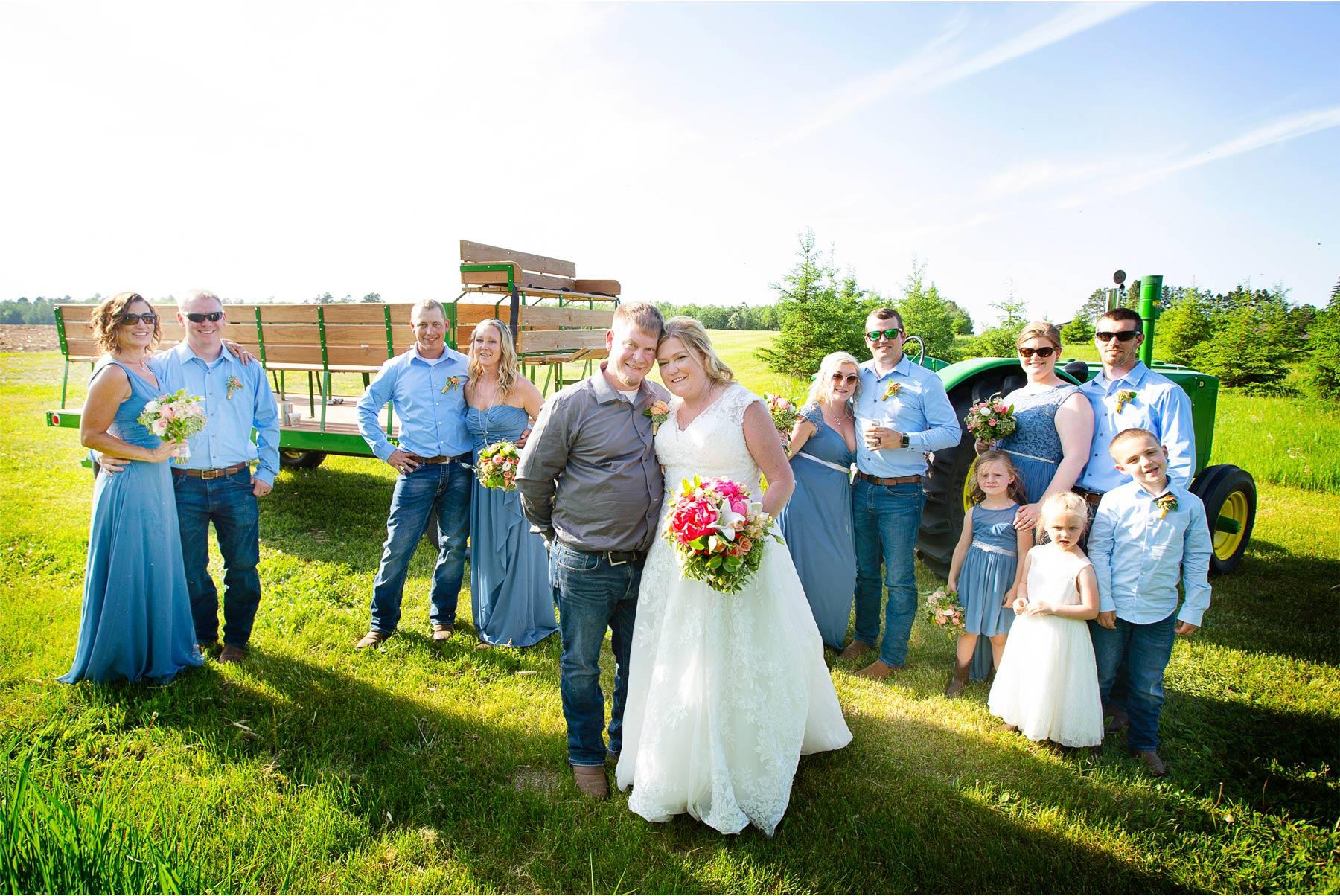 10-Vick-Photography-Wedding-Brainerd-Minnesota-Pine-Peaks-Lodge-Cabin-Rustic-Bridesmaids-Groomsmen-John-Deer-Kristi-and-Noel.jpg