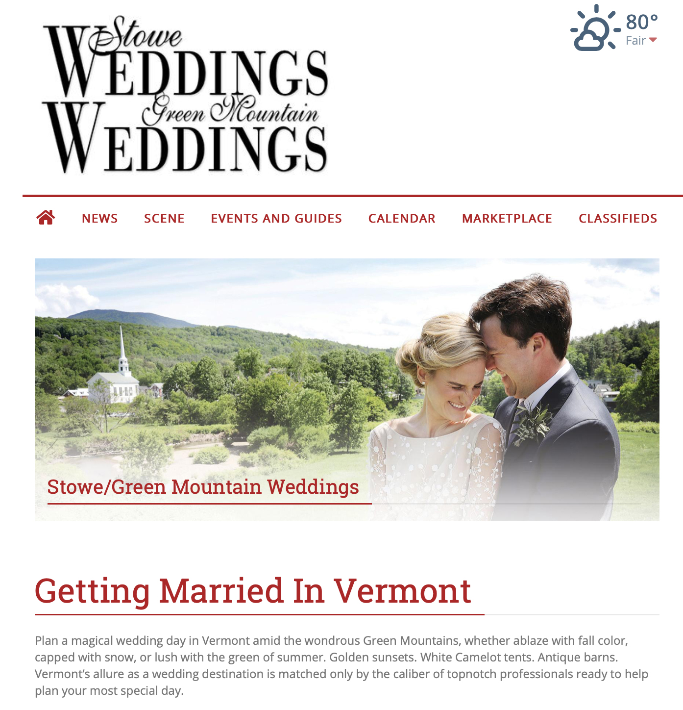 2019 STOWE TODAY ONLINE FEATURE -