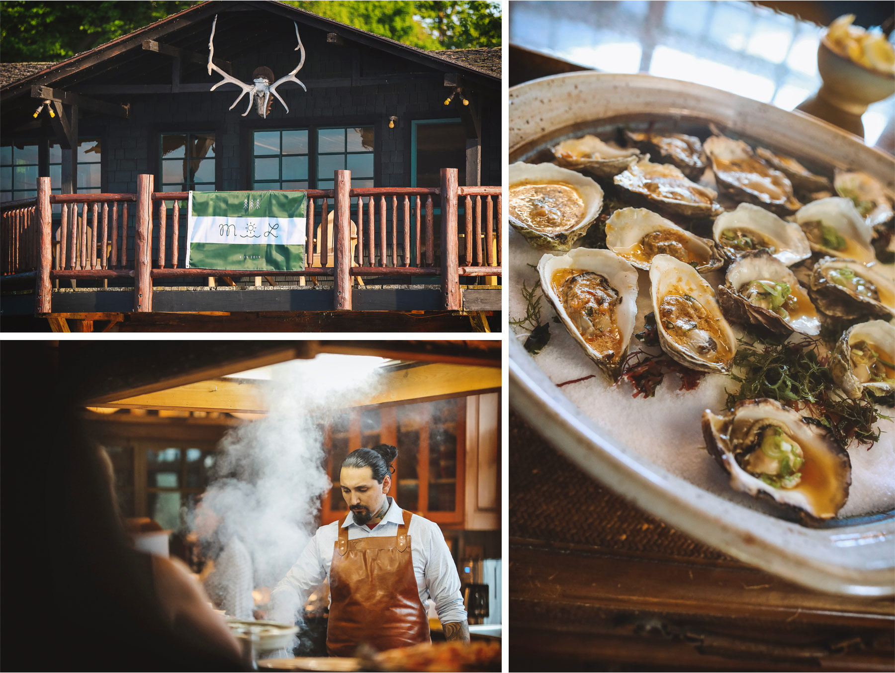 02-Vick-Photography-Wedding-Stouts-Island-Lodge-Wisconsin-Flag-Log-Cabin-Oysters-Chef-MiJa-and-Lucius.jpg