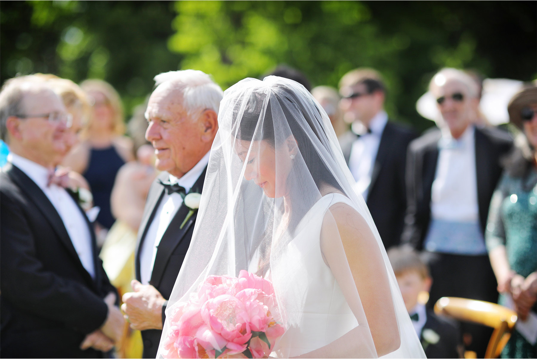 11-Vick-Photography-Wedding-Stouts-Island-Lodge-Wisconsin-Summer-Ceremony-Outdoor-Father-Bride-Veil-MiJa-and-Lucius.jpg