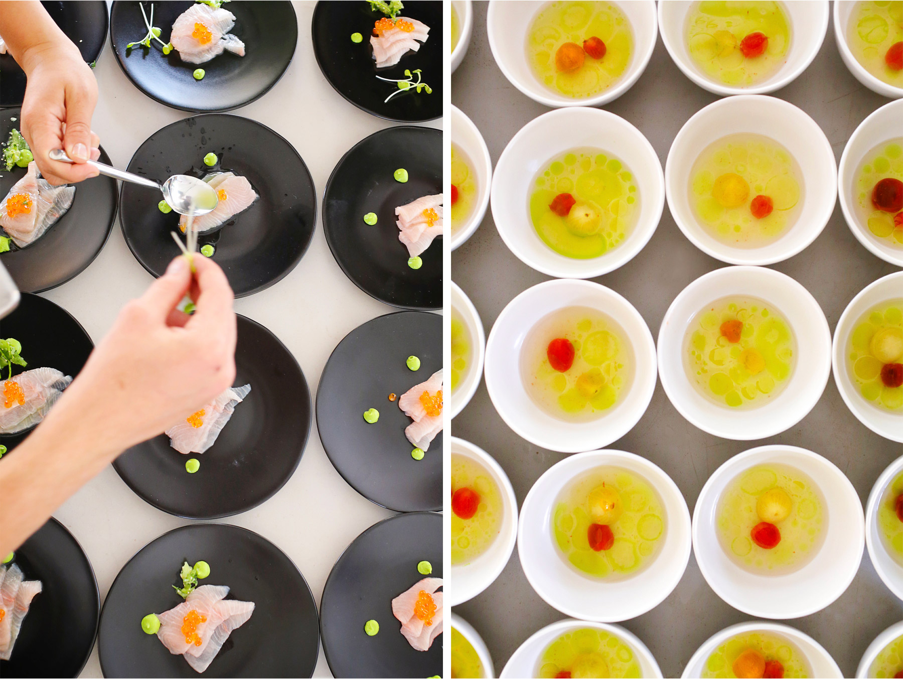 18-Vick-Photography-Wedding-Stouts-Island-Lodge-Wisconsin-Summer-Reception-Outdoor-Modern-Food-Plates-MiJa-and-Lucius.jpg