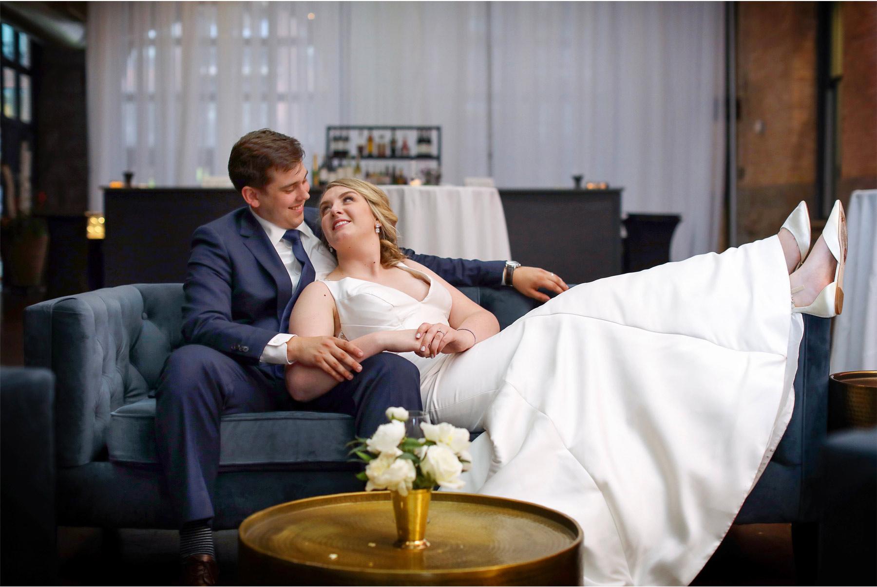 18-Minneapolis-Minnesota-Wedding-Vick-Photography-The-Depot-Lounge-Sofa-Bride-Groom-Amelia-and-Alexander.jpg