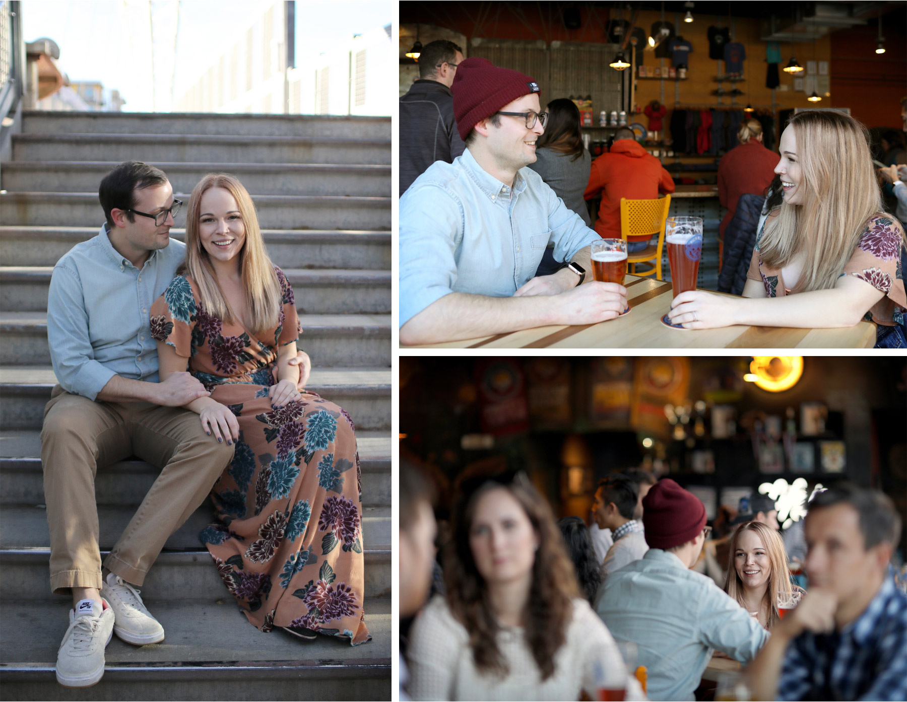 11-Vick-Photography-Fly-to-You-Engagement-Session-Denver-Colorado-Beer-Brewery-Steps-Danielle-and-Tom.jpg