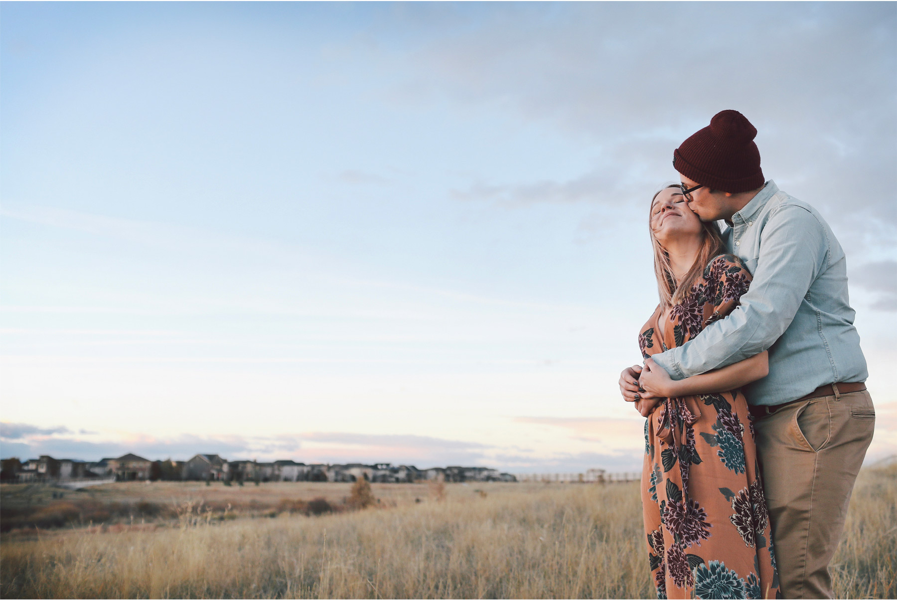 13-Vick-Photography-Fly-to-You-Engagement-Session-Denver-Colorado-Couple-Field-Sunset-Danielle-and-Tom.jpg