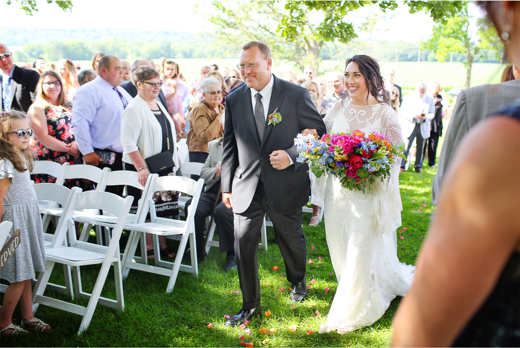 14-Vick-Photography-Rochester-Minnesota-Mayowood-Stone-Barn-Country-Wedding-Summer-Outdoor-Ceremony-Bride-Father-Lizz-and-Brady.jpg
