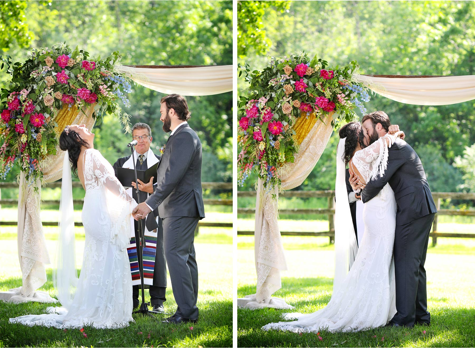17-Vick-Photography-Rochester-Minnesota-Mayowood-Stone-Barn-Country-Wedding-Summer-Outdoor-Ceremony-Bride-Groom-Kiss-Lizz-and-Brady.jpg