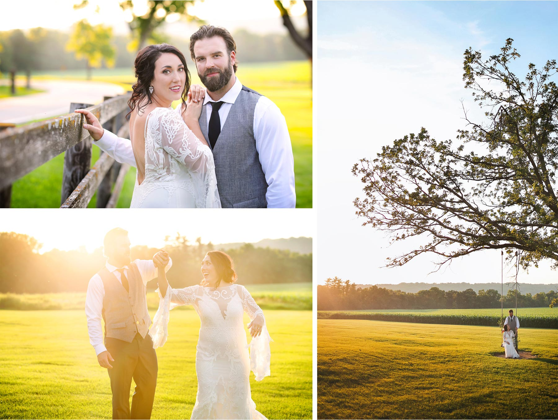 20-Vick-Photography-Rochester-Minnesota-Mayowood-Stone-Barn-Country-Wedding-Summer-Outdoor-Sunset-Bride-Groom-Swing-Lizz-and-Brady.jpg