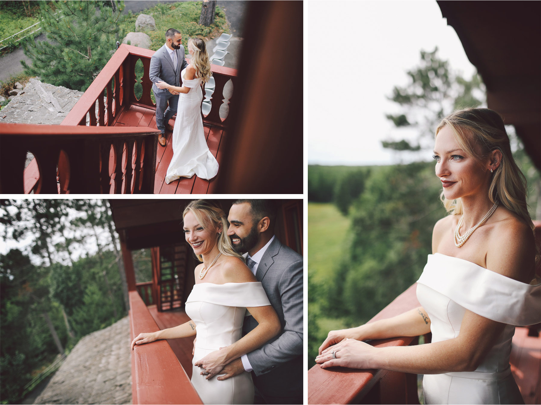 06-Ely-Minnesota-North-Wedding-by-Andrew-Vick-Photography-Bride-Groom-First-Look-Cabin-Woods-Katie-and-Joe.jpg