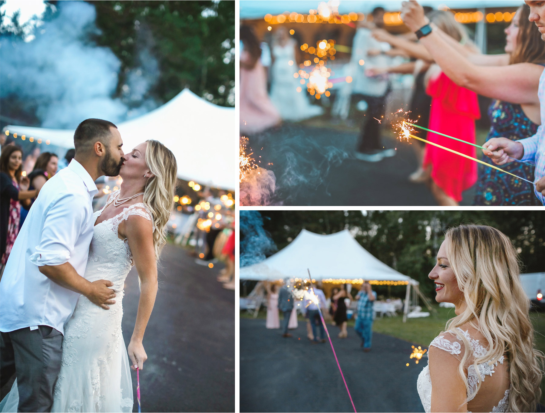 21-Ely-Minnesota-North-Wedding-by-Andrew-Vick-Photography-Sparklers-Send-Off-Bride-Groom-Kiss-Katie-and-Joe.jpg