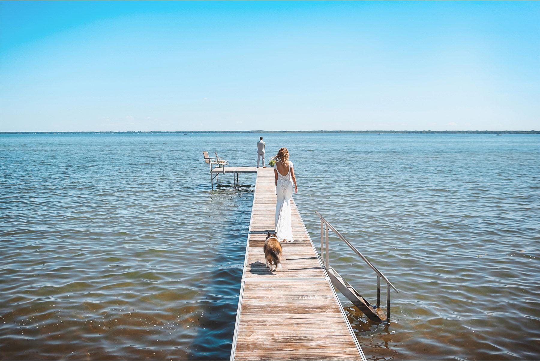 06-Vick-Photography-Wedding-Ottertail-Minnesota-Alice-in-Wonderland-Theme-First-Look-Bride-Groom-Lake-Dock-Tess-and-Greg.jpg