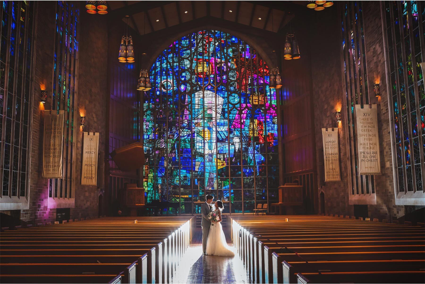 15-Wedding-by-Andrew-Vick-Photography-Chicago-Illinois-Alice-Millar-Chapel-Groom-Bride-Stained-Glass-Ashley-and-Nicholas.jpg