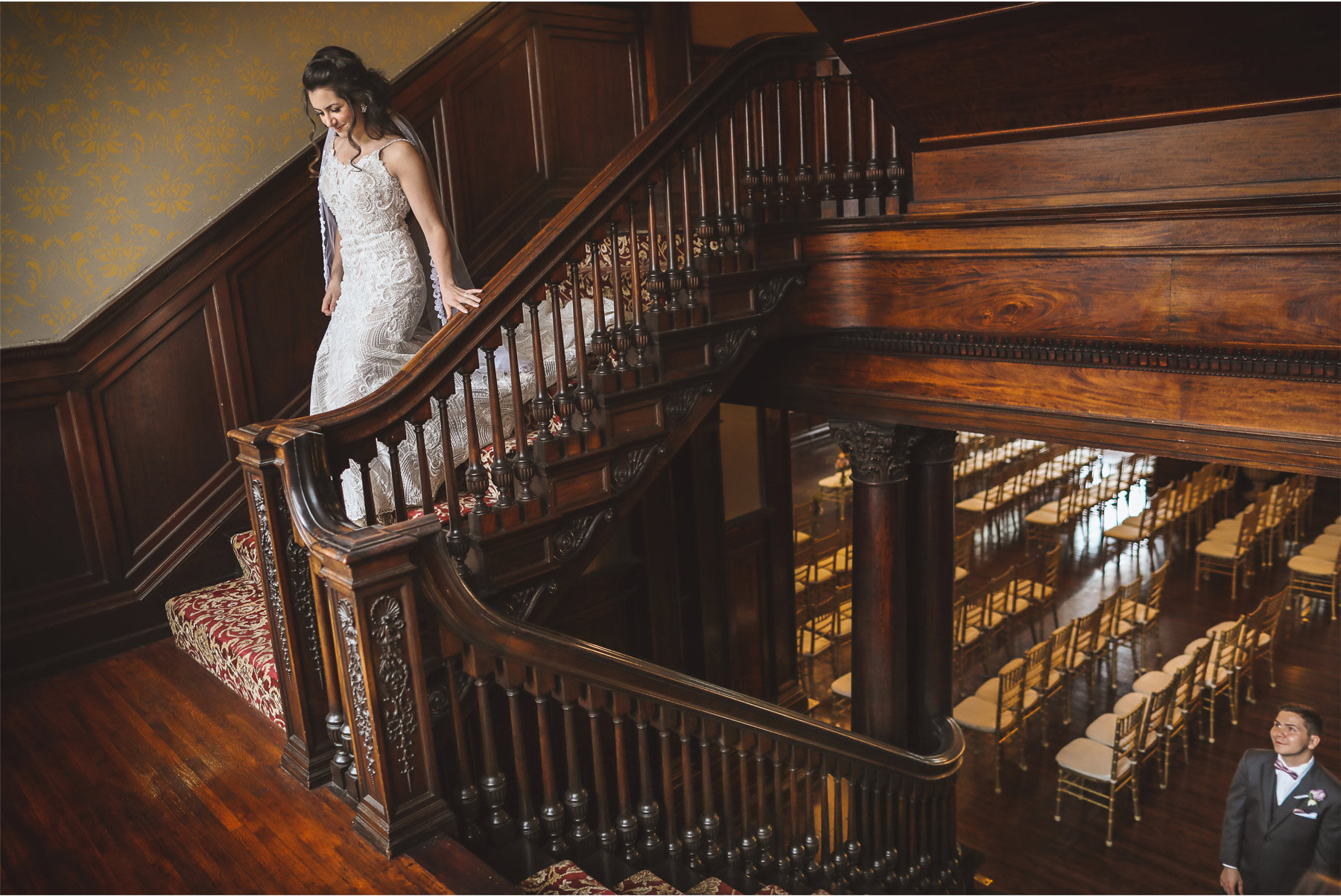 03-Wedding-by-Vick-Photography-Minneapolis-Minnesota-Semple-Mansion-Historic-Venue-Bride-Groom-First-Look-Staircase-Kaitlyn-and-Nate.jpg
