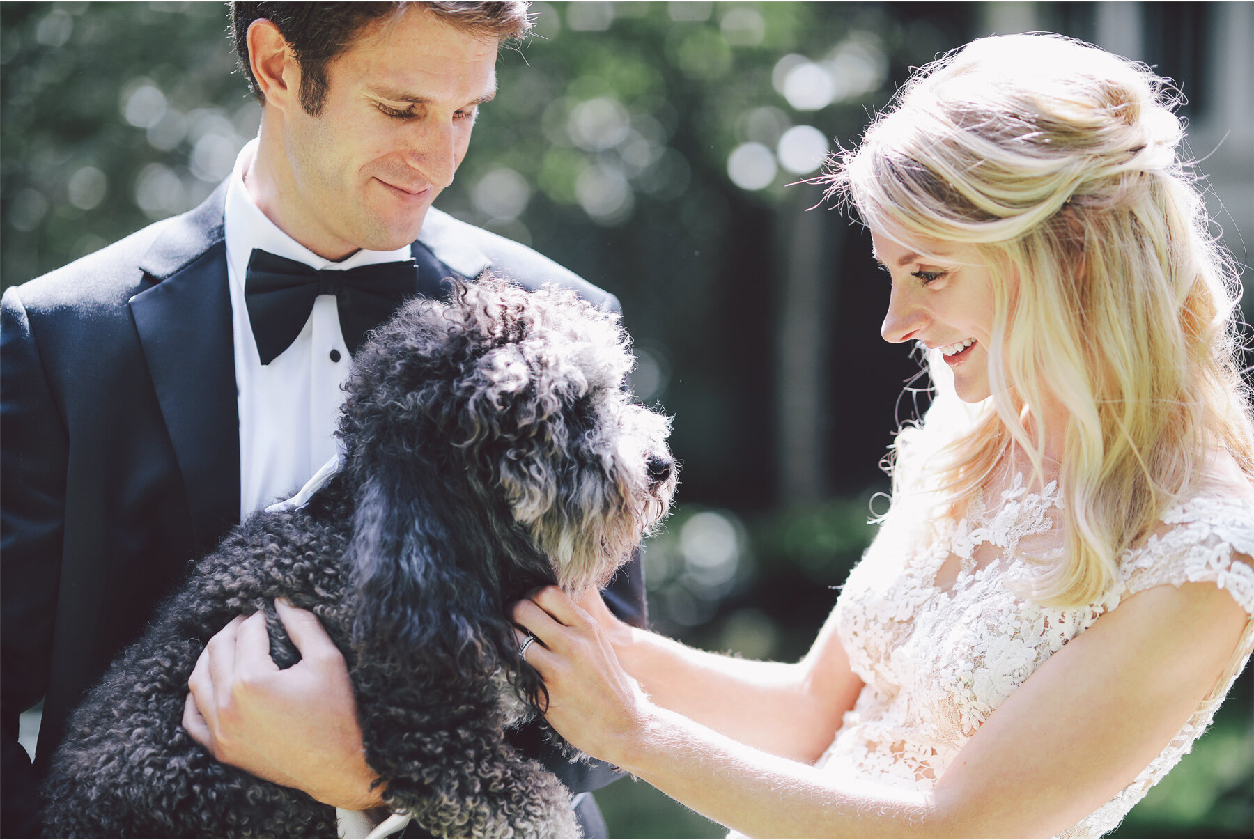 05 Wedding Vick Photography Minneapolis Minnesota Family Home Bride Groom First Look Dog Michelle and William.jpg