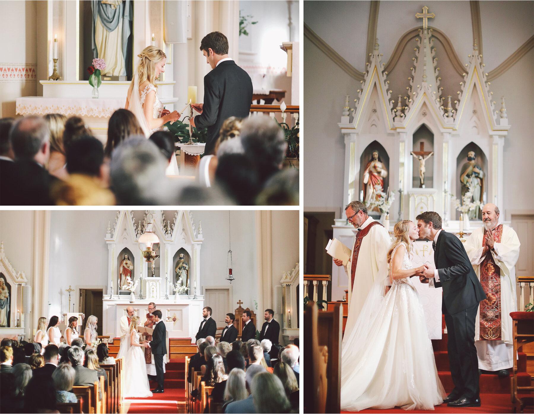 13 Wedding Vick Photography Minneapolis Minnesota Ceremony St Peters Mendota Prayer Kiss Michelle and William.jpg