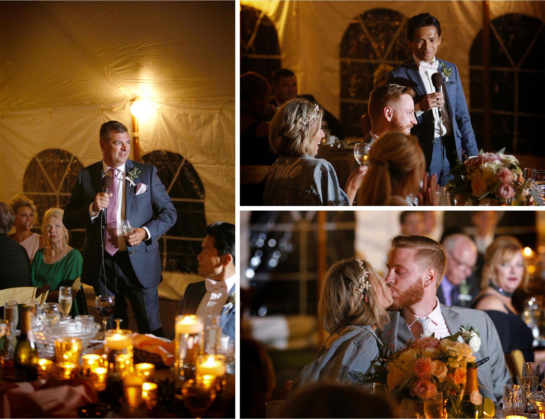 20-Vick-Photography-Wedding-Duluth-Minnesota-Glensheen-Mansion-Reception-Tent-Night-Outdoor-Summer-Toasts-Catherine-and-John.jpg