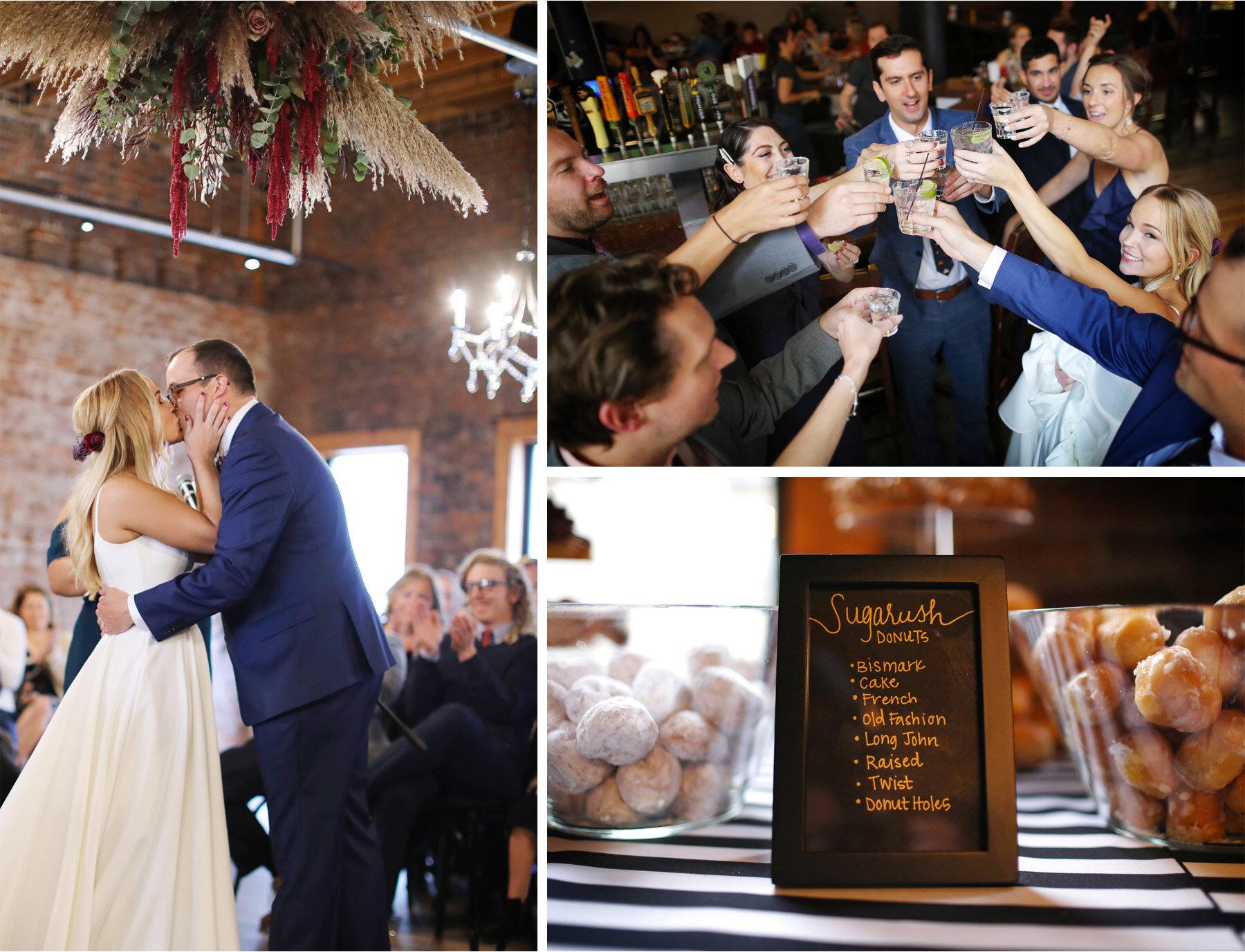 11-Vick-Photography-Wedding-Minneapolis-Minnesota-Earl-and-Wilson-Bride-Groom-Ceremony-Toast-Donuts-Danielle-and-Tom.jpg