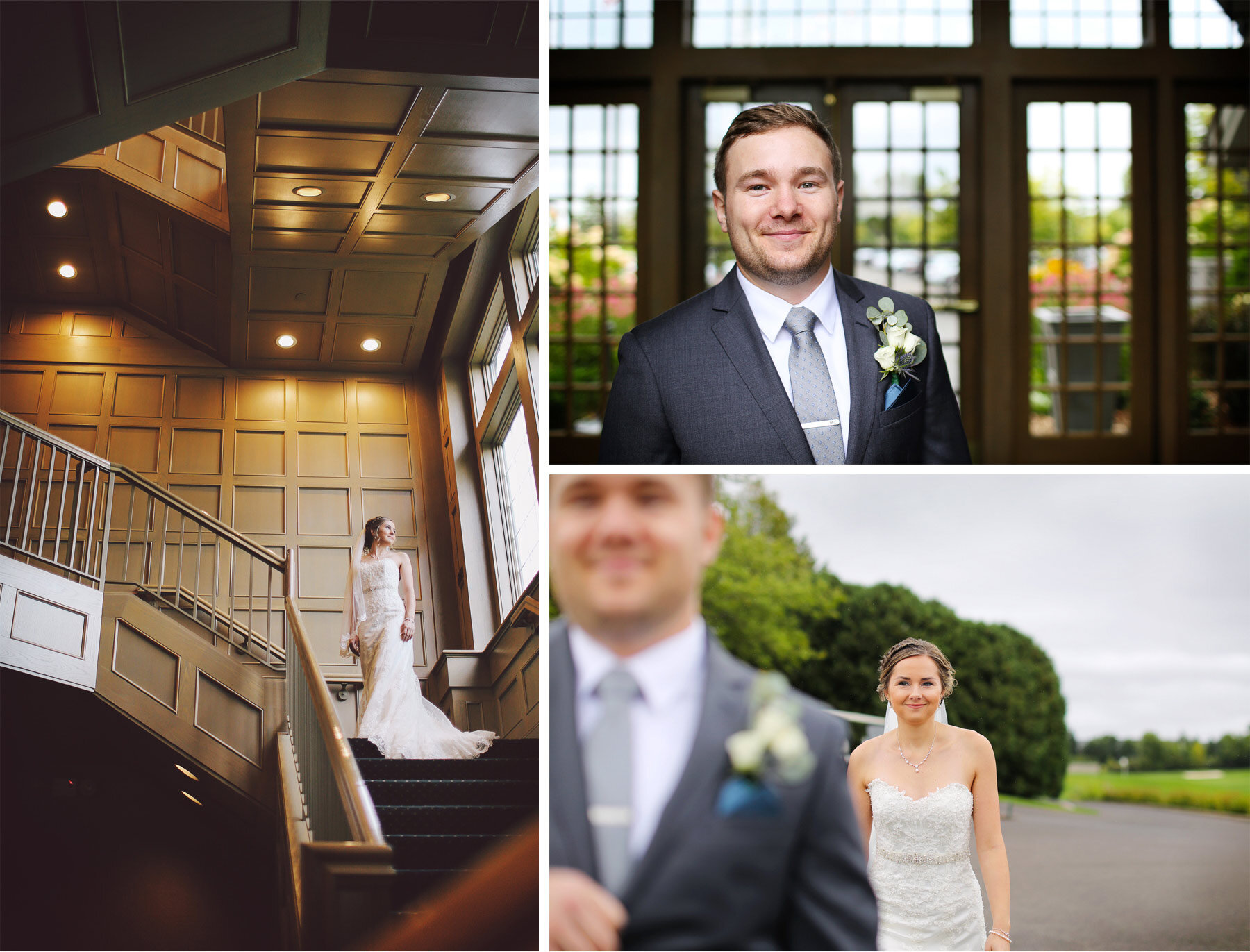 01-Vick-Photography-Minneapolis-Minnesota-Wedding-Rush-Creek-Golf-Club-Groom-Bride-Staircase-Amanda-and-Michael.jpg