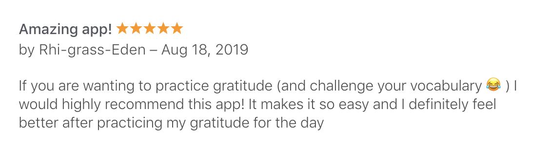 Three Good Things (Apple, Canada)