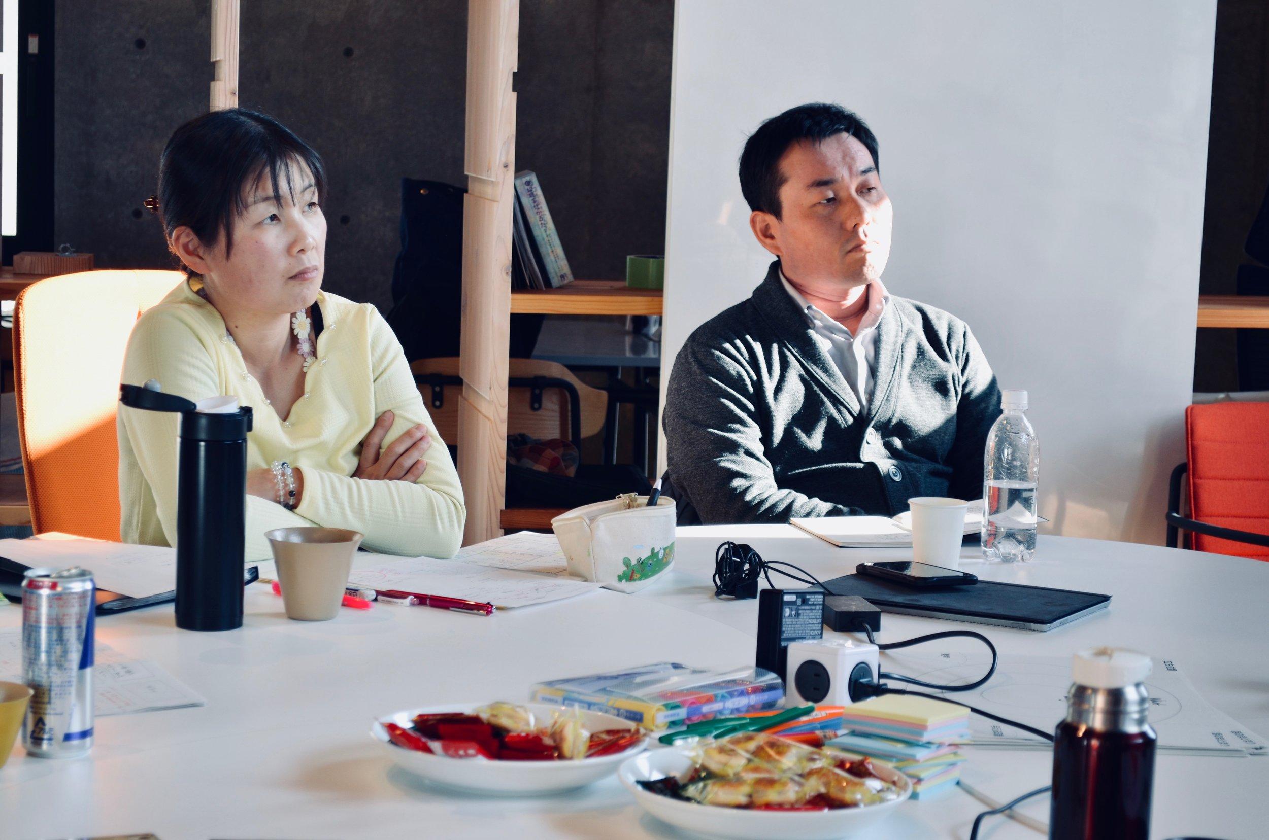 参加者の方々がメモを取りながら、話に耳を傾ける姿は、真剣そのもの。