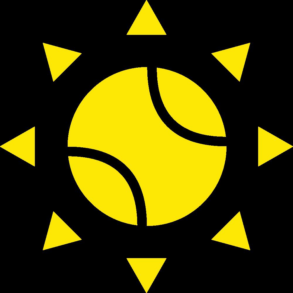 Tennis Ball Summer Sun
