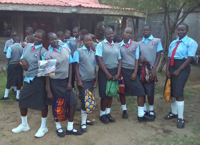 Girls from Rusinga Island