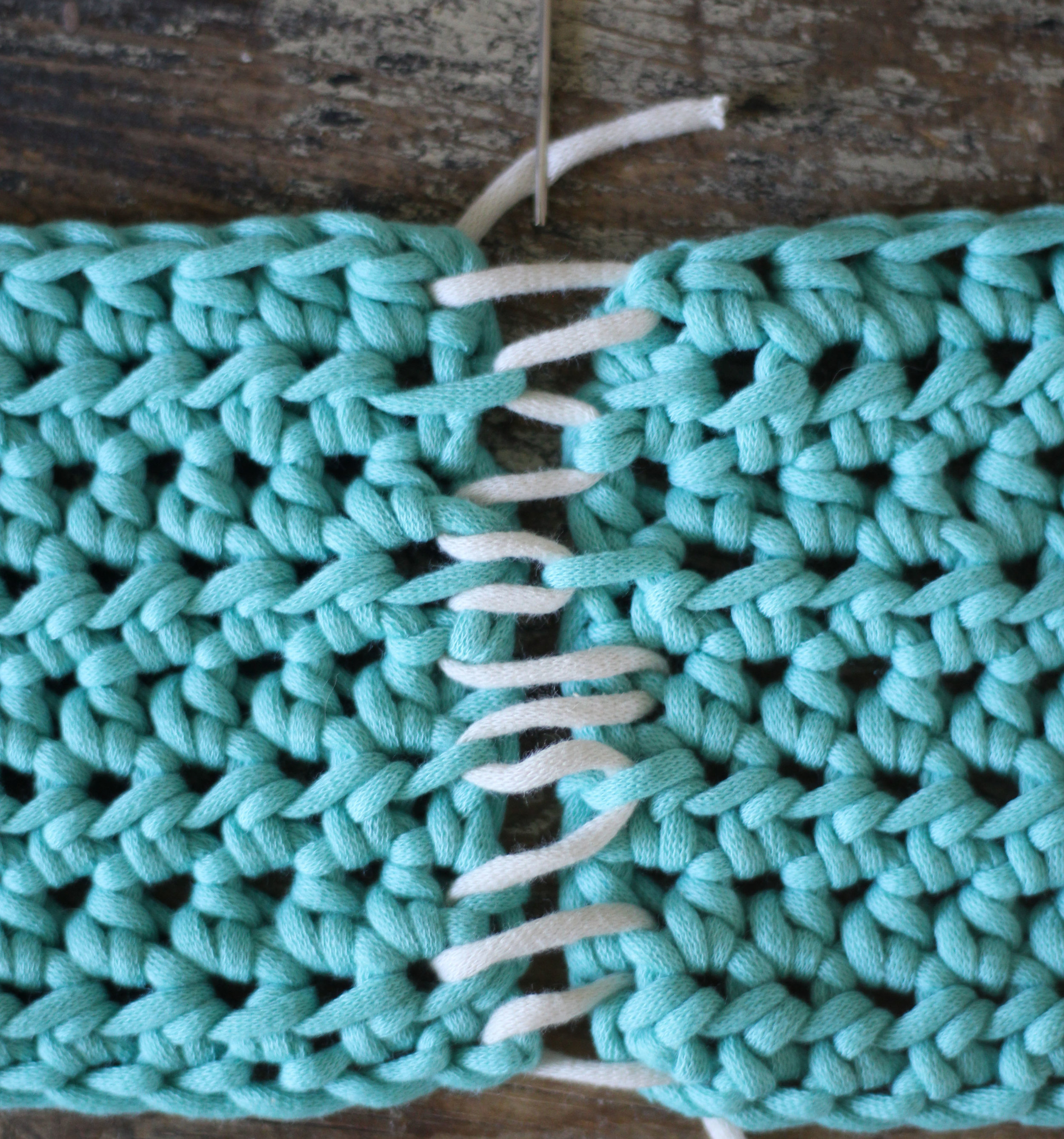 How To Mattress Stitch Hooked On Tilly