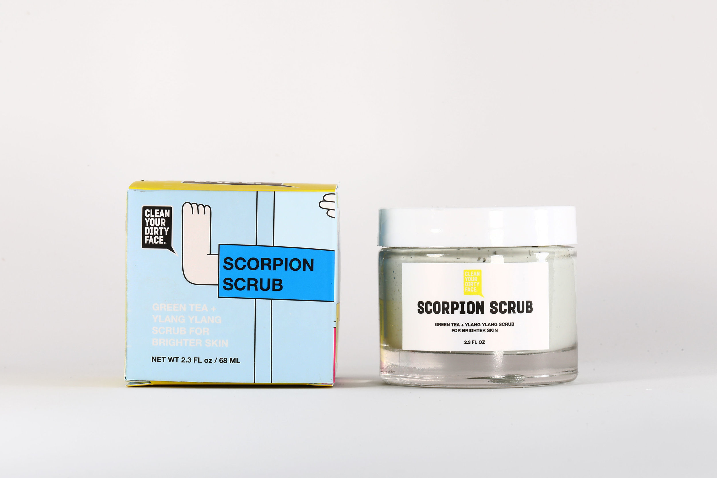Scorpion Scrub - $44.00