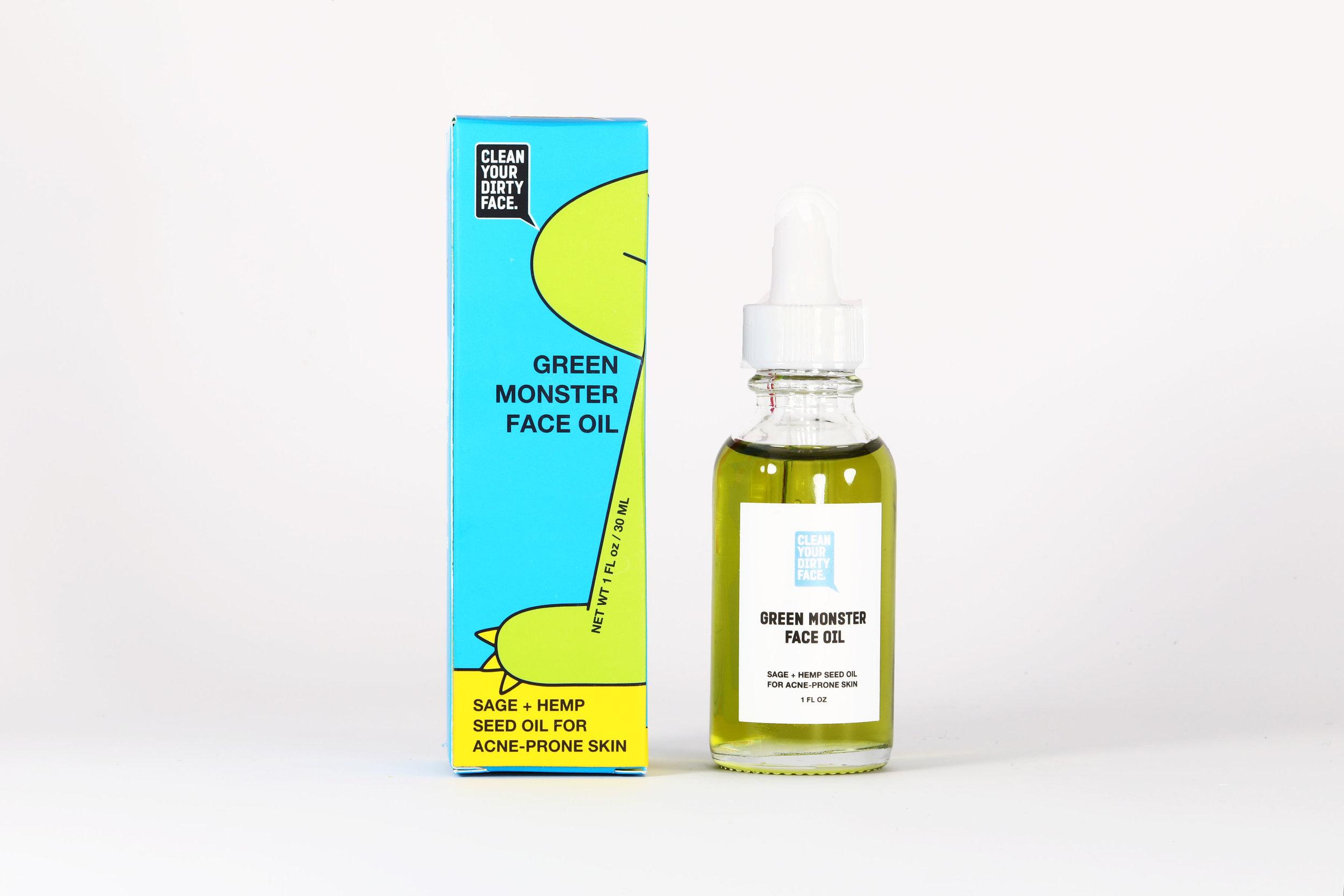 Green Monster Face Oil - $52.00