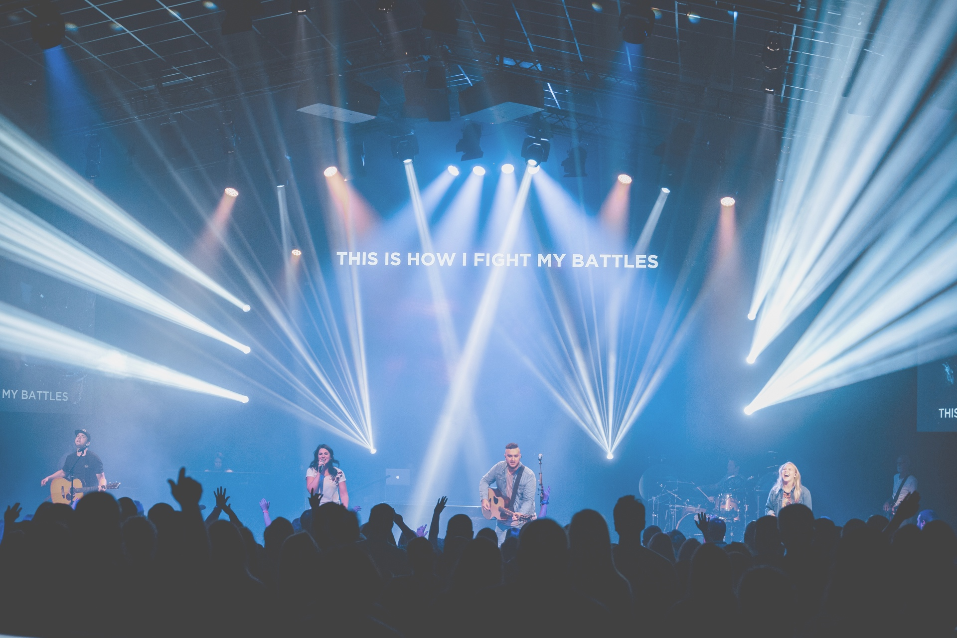 Faith Music - Open your heart and see the evidence of God's presence all around you as you listen to original music written, produced, and performed by our worship team.