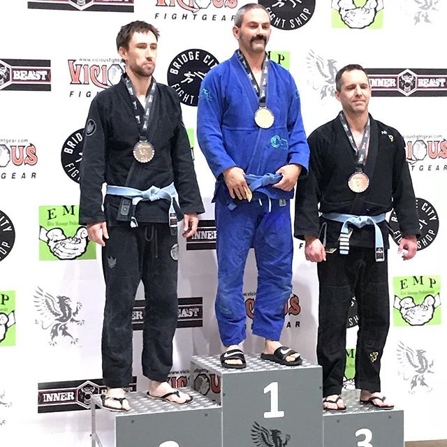 Sliver and Gold at the Revolution! #ballardjiujitsucompteam #ballardjiujitsu #thiswhatwedo