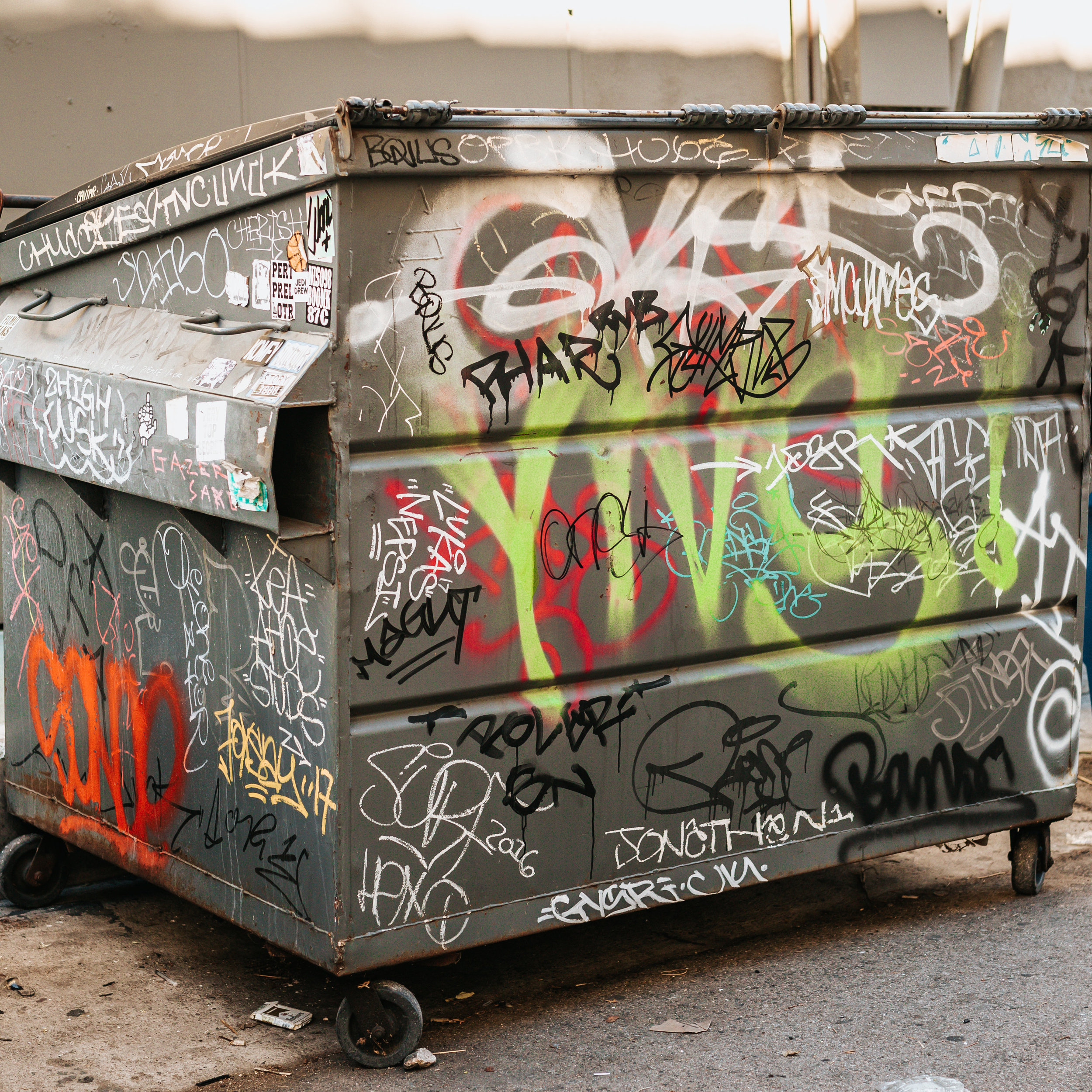 37% of material going into our county landfill is compostable. -