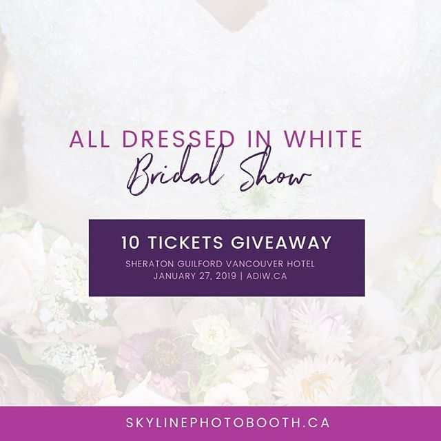 Psst... So we have 10 tickets to give away to 5 lucky couples to the @adiwbridalshow - comment below to enter in the giveaway. #vancouver #vancouver_canada #vancouverbc #vancouverisland #vancouver_ig #vancouvereats #vancouverlife #vancouvercanada #vancouverfood  #vancouverviews #vancouverfitness #photooftheweek #photoboothfun #photoboothmalaysia #props #backdrop #photoday #photoadayaug #phototoaster #photoparade #photoboothmurah #minipelamin #pelamin #photolocker #photodaily #photogram #socialmedia101 #indianwedding