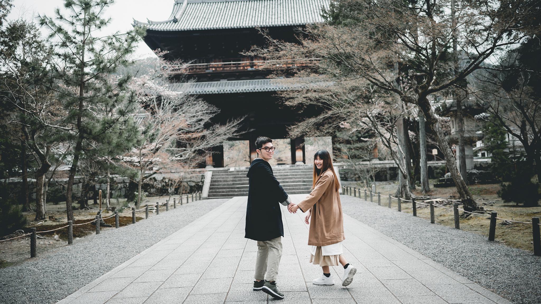 Prewedding Kyoto Keage Incline 00020.JPG