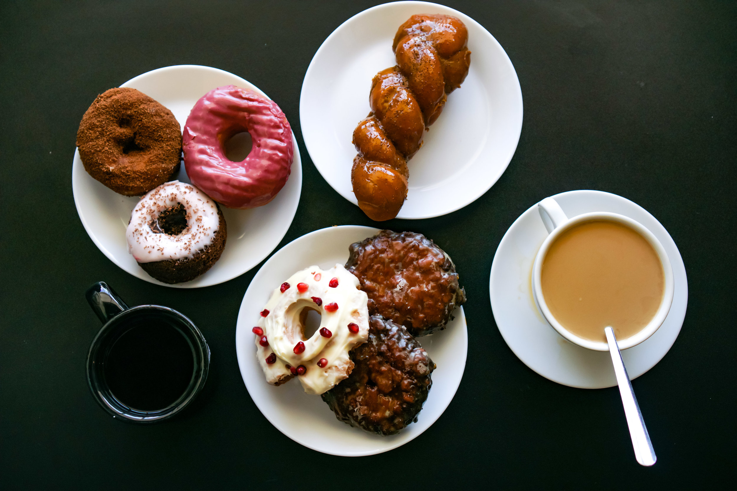 """Several flavors from Morningstar including my favorites the """"Cop"""" doughnut and spicy pineapple fritter"""