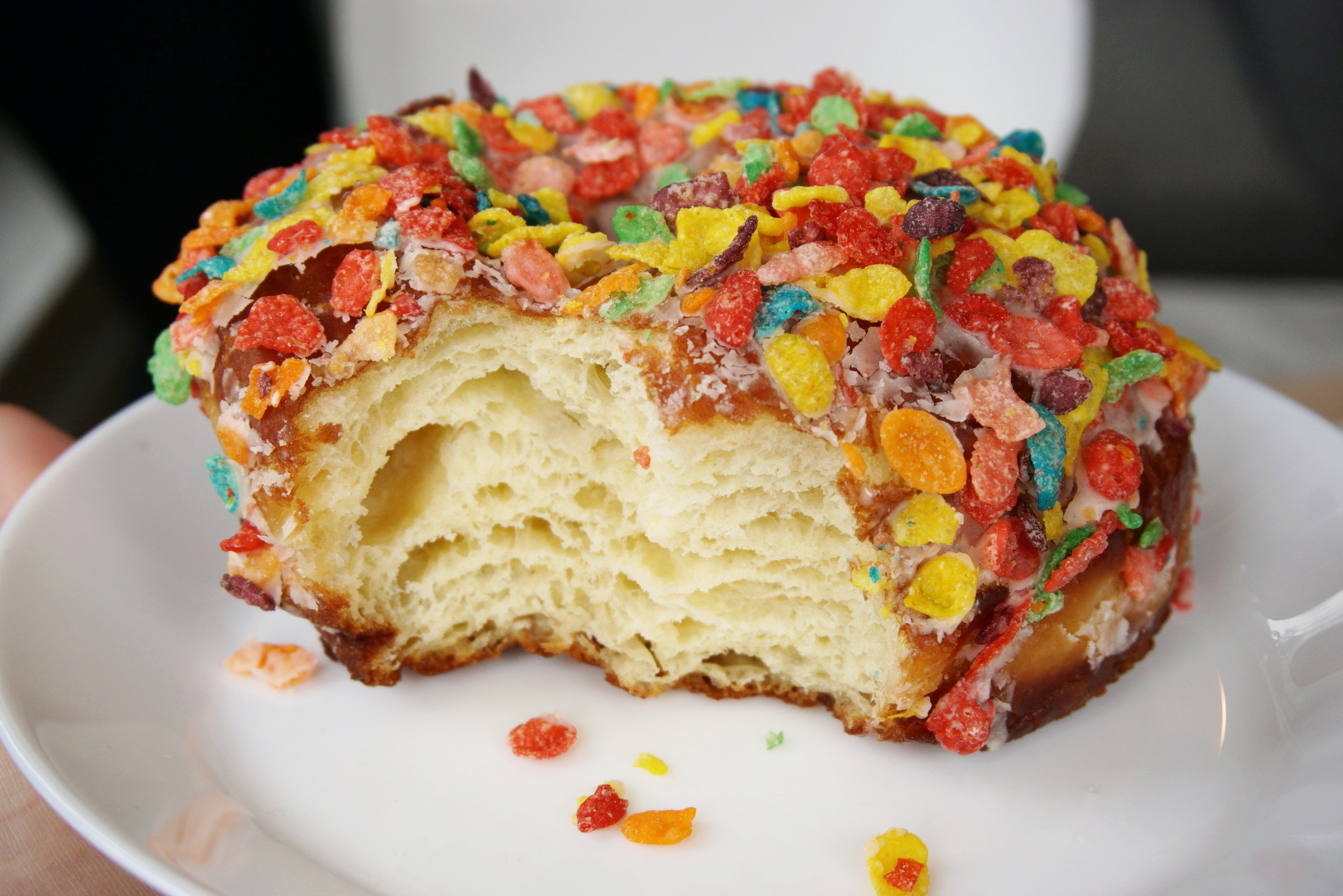 Why doughnuts you ask? Because nowadays, doughnuts have more layers than most people do.