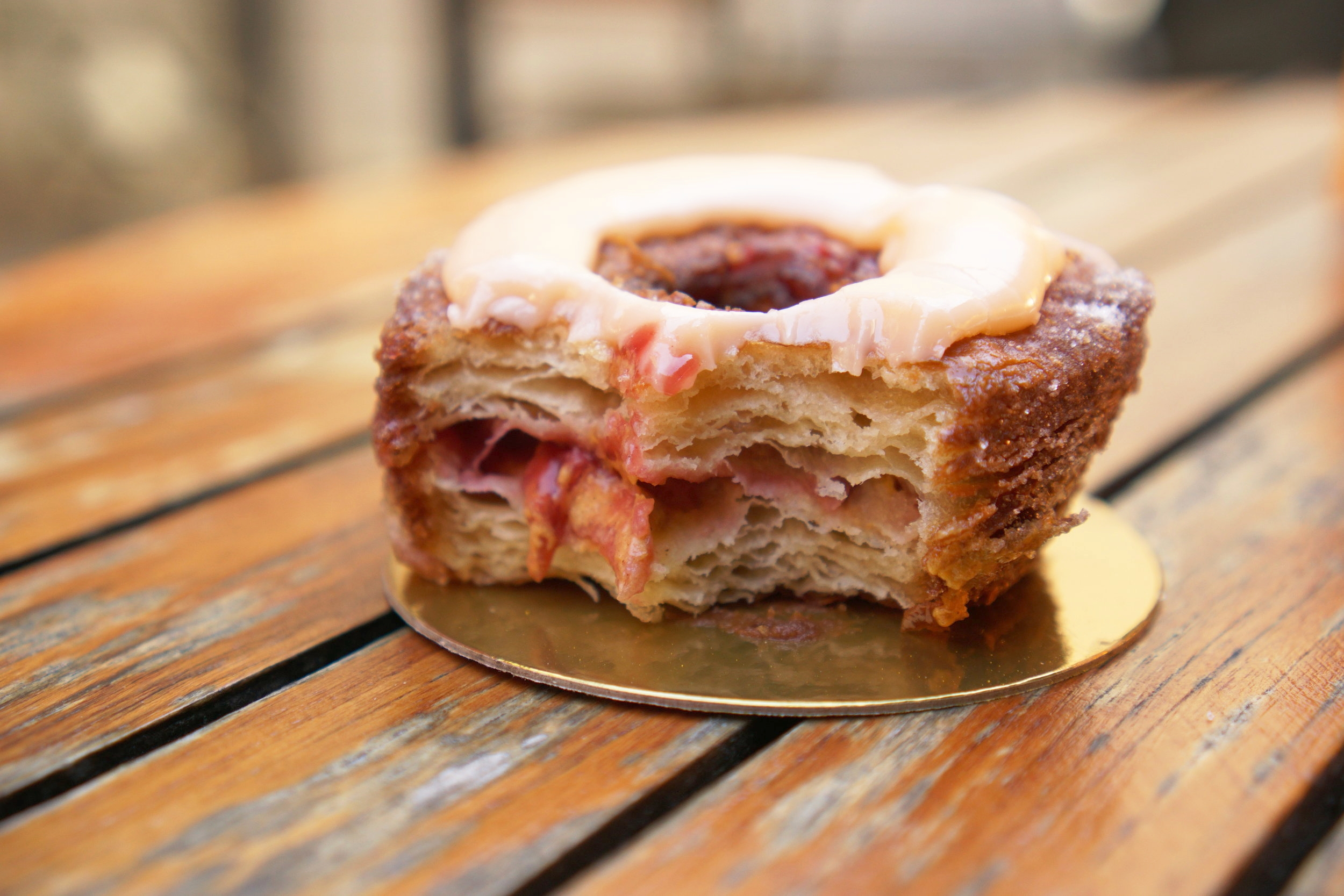 The Original Cronut from Dominique Ansel Bakery in NYC