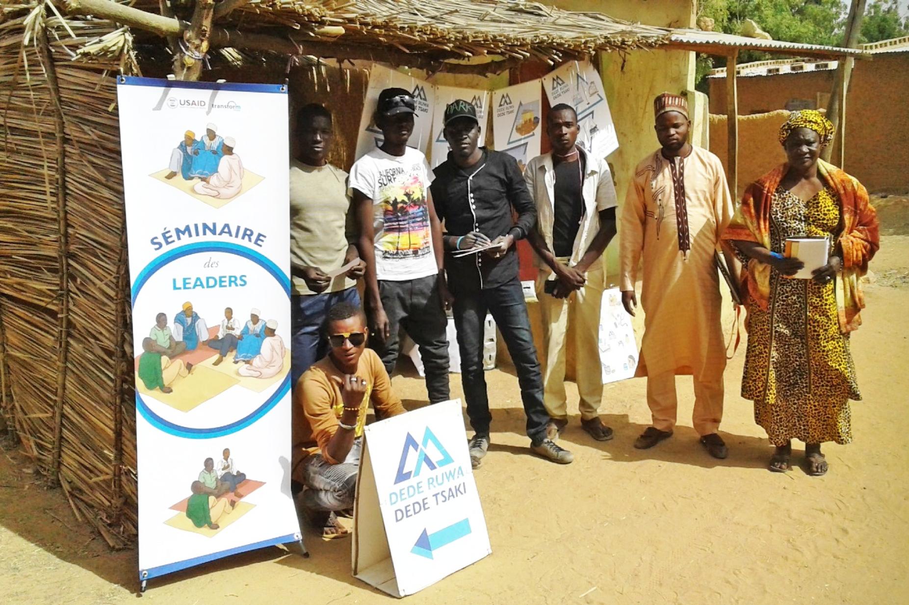 Entrainement et recrutement des leaders de jeunesse au Dede Ruwa Dede Tsaki de Bandé, séminaire et activités des leaders