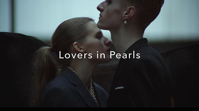 'Lovers In Pearls' fashion film is out now! 🎞 Link in bio! Special thanks to the dedicated creative team in Denmark 🇩🇰