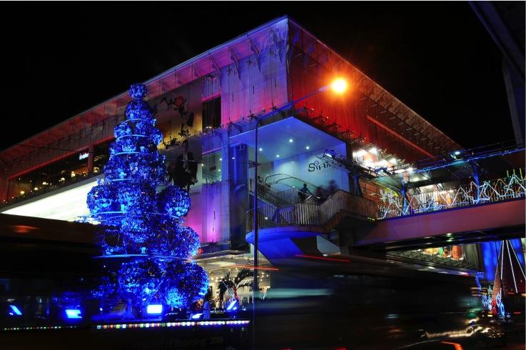 Christmas Tree / Siam discovery, Bangkok
