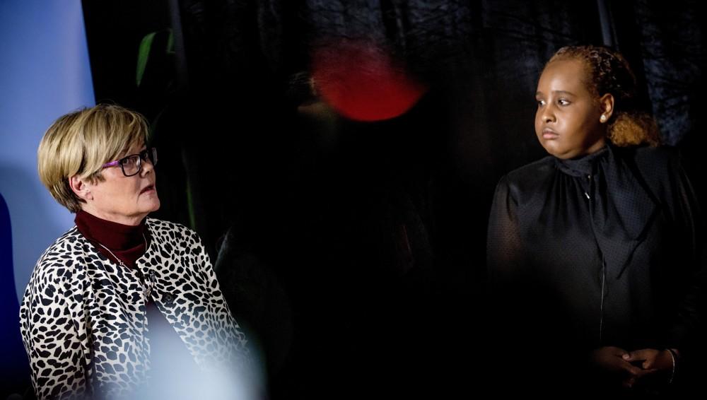 Stortingsrepresentant for Høyre Kristin Ørmen Johnsen beklaget på vegne av Stortinget og den norske stat til barn som Nora.  FOTO: GORM K. GAARE (Først publisert i Nrk.no)