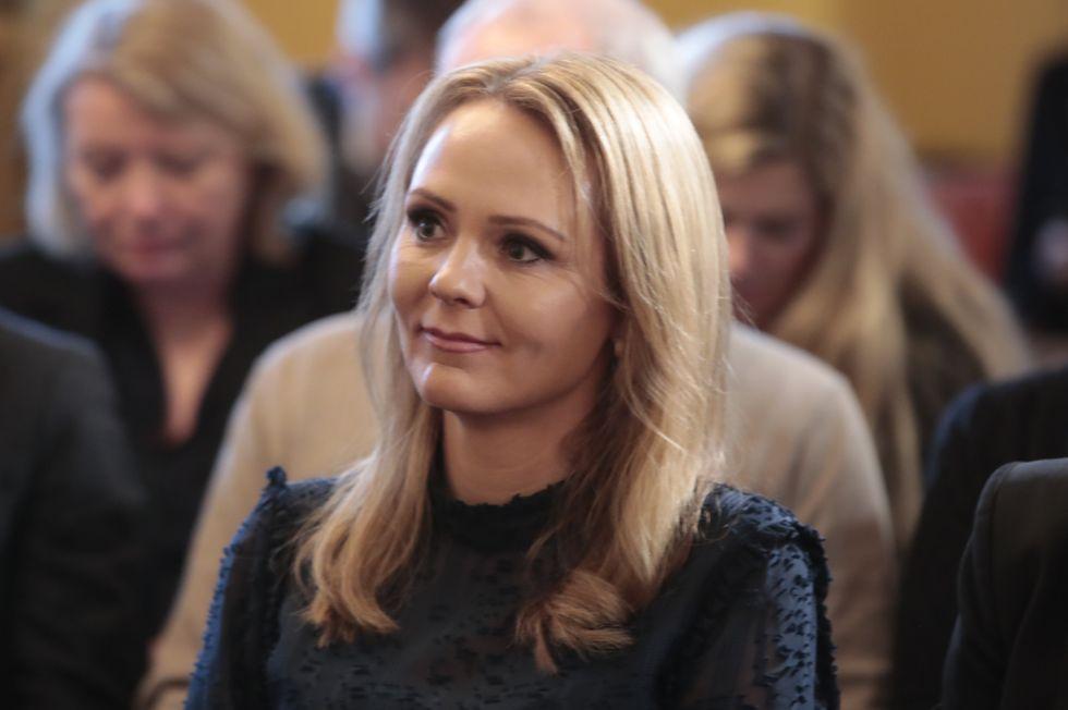 Foto: Lise Åserud, NTB scanpix  Barne- og likestillingsminister Linda Hofstad Helleland (H).