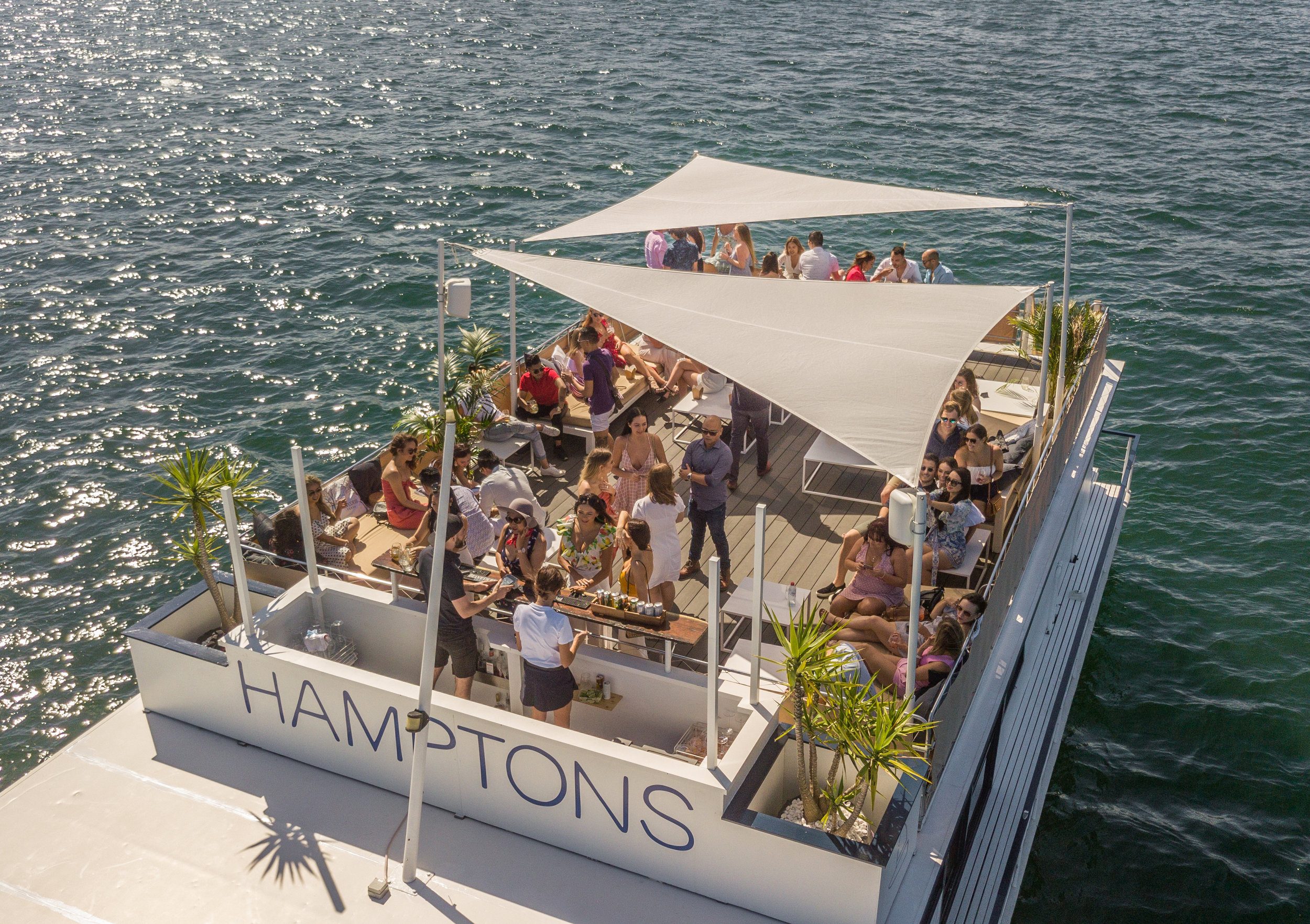 Hamptons Sydney boat hire events .jpg