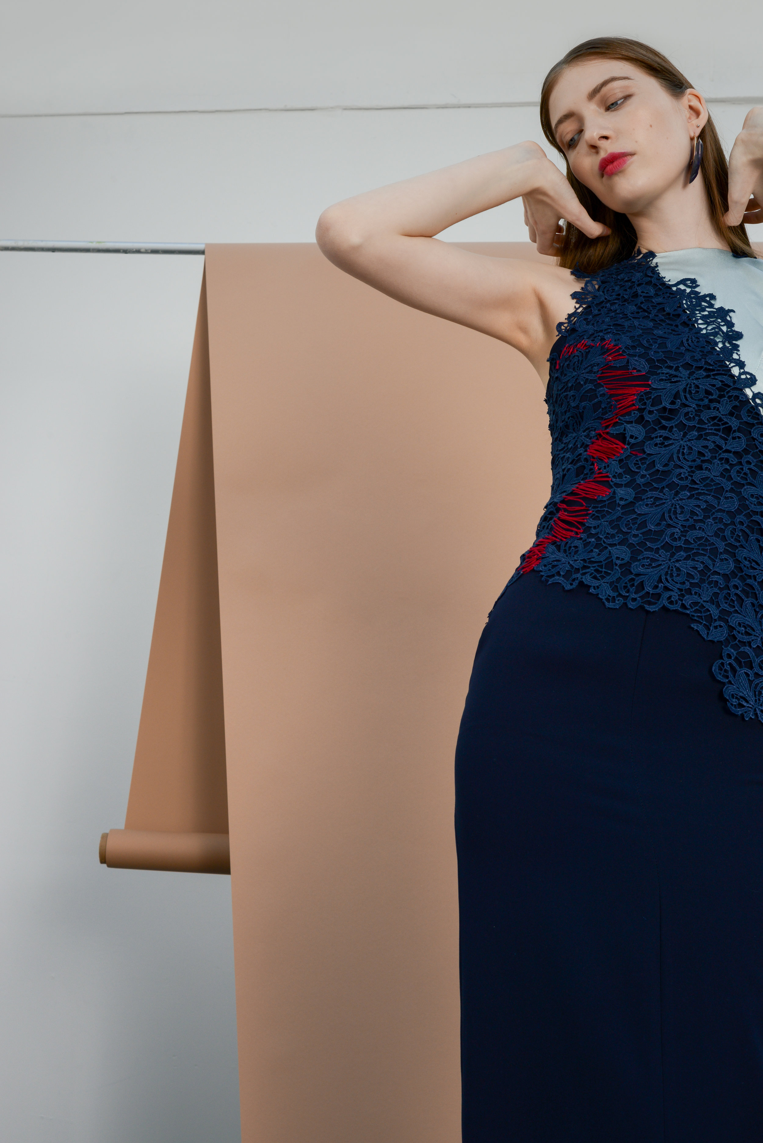 Fillan Dress/ Eire Embroidered Top